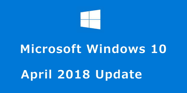 Windows 10 April 2018 Update:DW230