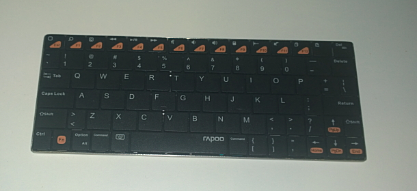 Bluetooth スリムキーボード rapoo E6300:DW230