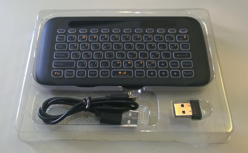 Xmony H20:5インチタッチパッド、バックライト搭載ミニ キーボード:DW230