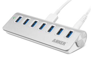 Anker USB 3.0 高速7ポートハブ:DW230