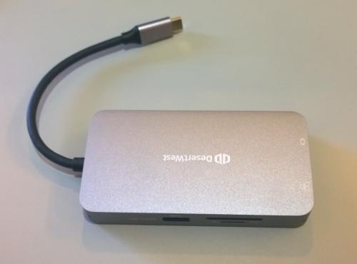 Desertwest USB TypeC ハブ 9in1「強化版」