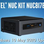 インテル NUC NUC8i7BEH:Windows 10 May 2020 Update