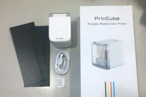 PrinCube-世界最小のモバイルカラープリンター